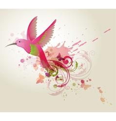 humming-bird vector image vector image