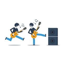 Music live performance vector image