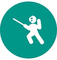 Sword Fighting vector image
