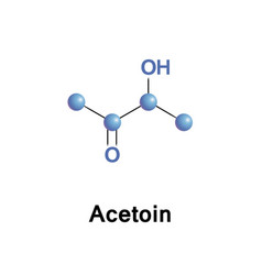 Acetoin acetyl methyl carbinol vector