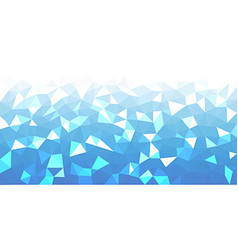 Blue geometric texture abstract background vector
