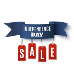 Independence Day 4th of July sale vector image