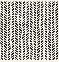 seamless pattern with hand drawn brush strokes vector image vector image
