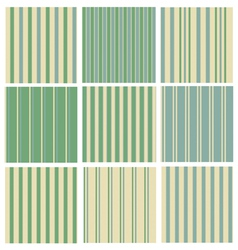 green striped background vector image