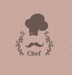logo chef vector image