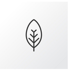 Foliage icon symbol premium quality isolated tree vector