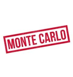 Monte carlo rubber stamp vector