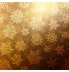 Seamless Bronze christmas texture pattern EPS 10 vector image vector image