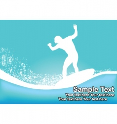 surfs up vector image