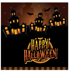 Happy halloween for kids vector