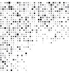 Squares grey technology pattern vector