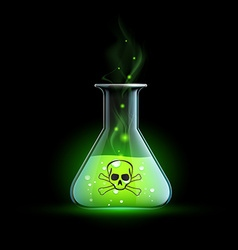 Poisonous liquid stock vector