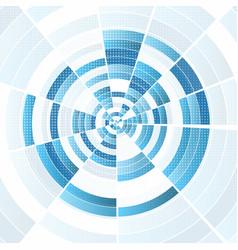 Abstract techno design vector