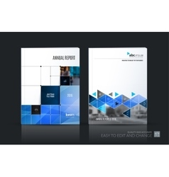 Business set Brochure template layout vector image vector image
