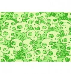 cool skulls vector image
