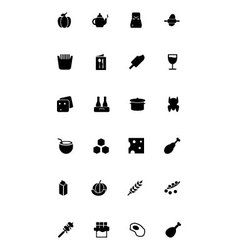 Food icons 5 vector