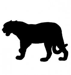 Jaguar silhouette vector