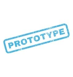 Prototype rubber stamp vector