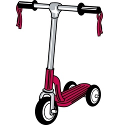 Push scooter vector