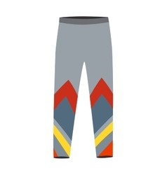 Running pants vector