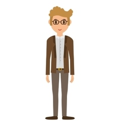 Cartoon man icon person design graphic vector