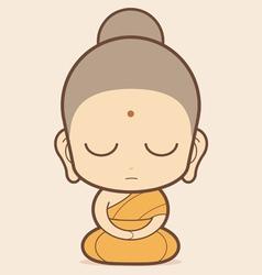 Buddha vector image vector image