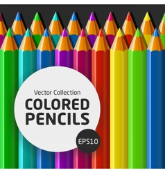 ColoredPencilsSet vector image