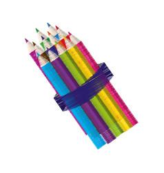 School ed pencils design vector