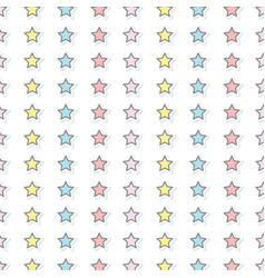 Stars decoration design art background vector
