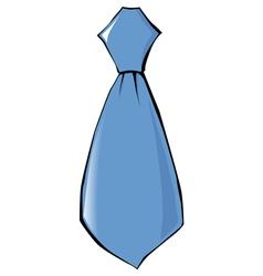 Tie clothing accessoire vector