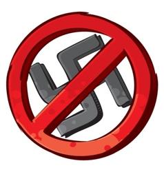 No nazi symbol vector