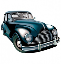 oldtimer vector image vector image