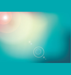 Background with lens flare flashes of light vector