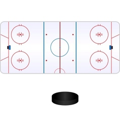 Hockey pole vector