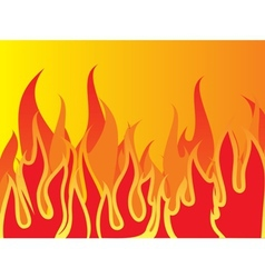Aggressive fire background eps vector