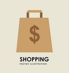 Shopping concept vector