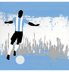 Argentina football vector image vector image