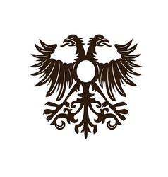 eagle vintage fashion print design vector image vector image