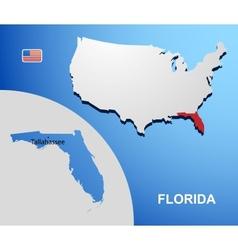 Florida vector image vector image