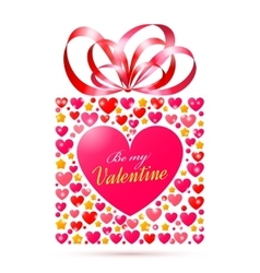 Valentines day gift vector