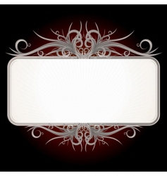 vintage gothic sign vector image