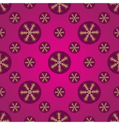 Winter pink and purple seamless pattern vector