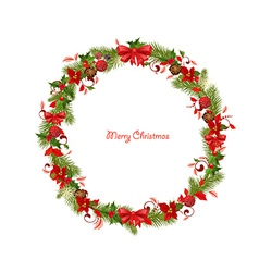 Wreath for you design vector image vector image