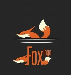 Fox logo 7 vector