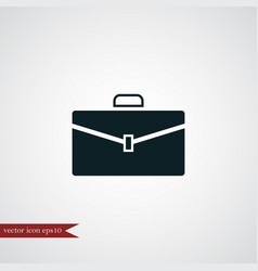 Case icon simple vector