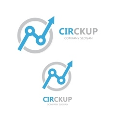 Finance logo design vector