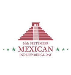 Independence day mexico vector