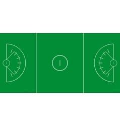 Lacrosse field vector