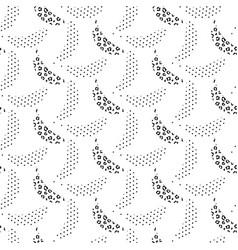 Banana pop art seamless pattern black and vector