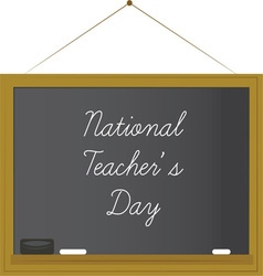 National teachers day vector